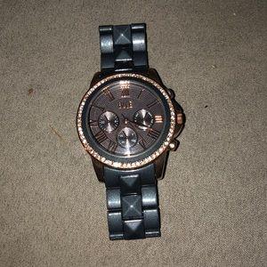 BKE two tone watch